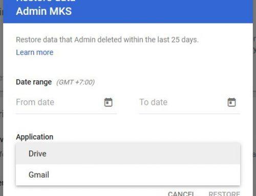 Mengembalikan Data Email dan File yang Terhapus